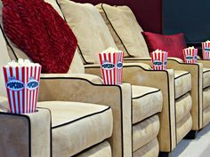 New Theater Seats Featured in Rev Run's Renovation