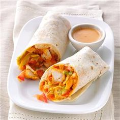 Crispy Buffalo Chicken Wraps