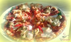 Fitness - Fitrecepty a fitness jídlo (str. Low Carb Pizza, Bruschetta, Vegetable Pizza, Potato Salad, Mozzarella, Cabbage, Food And Drink, Healthy Recipes, Vegetables