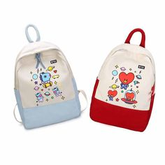 Cute Mini Backpacks, Colorful Backpacks, Mochila Kpop, Bts Bag, Sparkle Outfit, Bts Clothing, Girl D, Discount Online Shopping, Cute School Supplies