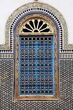 gorgeous tilework in morocco