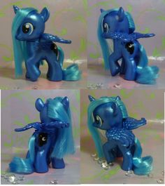 Custom My Little Pony Filly Princess Luna by SanadaOokmai.deviantart.com on @deviantART