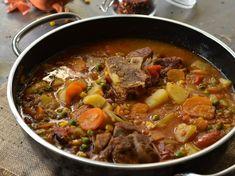 Κρεατόσουπα με οσομπούκο Pot Roast, Recipies, Beef, Dinner, Ethnic Recipes, Soups, Greek Recipes, Carne Asada, Recipes