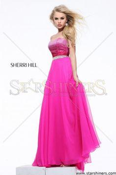 Rochie Sherri Hill 21039 Pink
