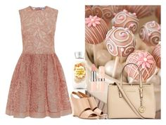 """""""Cake pop in background"""" by leeloowheeler ❤ liked on Polyvore featuring RED Valentino, Chloé and Michael Kors"""