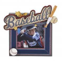 Jolee's Boutique Baseball Photo Frame
