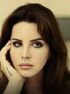 """Lana Del Rey photographed for the German Interview Magazine's October 2015 issue """
