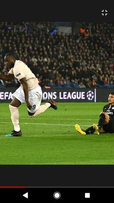 Lukaku scores goal in famous win over psg Psg, Manchester United, Scores, The Unit, Goals, News, Man United, Target
