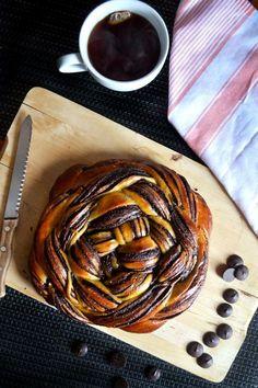 CHOCOLATE ORANGE CHALLAH BREAD