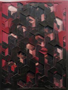Multilayered Portrait Artworks by Lucas Simões