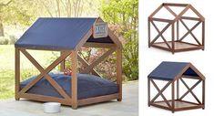 Ikea Bed Slats, Pet Station, Diy Dog Bed, Wood Dog, Pet Gate, Dog Furniture, Dog Crate, Animal House, Dog Houses