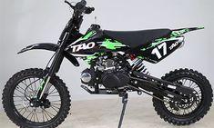 TAOTAO 125cc Dirt Bike For Sale| TAOTAO 17 Dirt Bike For Sale | TAOTAO Dirt Bike with 4 Speed Gear| TaoTao dirt bike db 17 For Sale at Txpowersports.com Dirt Bike Shop, Dirt Bikes For Sale, Apollo Dirt Bike, Pit Bike 125cc, Chain Drive, Engine Types, Manual Transmission, Big Kids, Gears