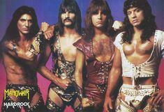 38 Awkward Metal Band Photos That Are So Bad They're Good Arte Heavy Metal, Heavy Metal Music, Heavy Metal Bands, Pretty Boy Floyd, Judas Priest, Manowar Band, Radios, Rock Y Metal, Rock Rock