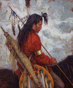 The Warrior - artist James Ayers