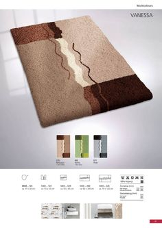 Contemporary and unique sculpted design in classic colors with a premium non slip long wearing backing. Bath Rugs, Sculpting, Contemporary, Classic, Colors, Unique, Design, Derby, Sculpture