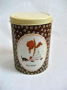 Holly Hobbie. Vintage cookie jar.