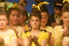 A plastic soda bottle in the hair makes it stand up every time. (Seussical - Who's)