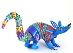 oaxacan wood carved animals