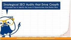 Presented at Digital Olympus (June 2016) here's Aleyda Solis' slide deck on Strategical SEO Audits that Drive Growth.