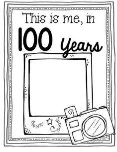 100 Days Smarter Print and Go! – 100 days of school - Malvorlagen Mandala 100th Day Of School Crafts, 100 Day Of School Project, 100 Days Of School, School Holidays, School Fun, School Projects, Kindergarten Projects, Teaching Kindergarten, Student Teaching