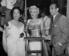 Sur le tournage de There's no business 5 - Divine Marilyn Monroe