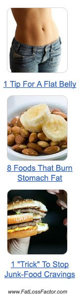 8 foods to burn Belly Fat