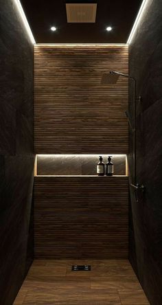 It's true that bathroom shower is typically used for quick showering. But that doesn't mean you can't choose a stylish bathroom shower. Check out our stunning bathroom shower ideas for realizing… Hotel Bathroom Design, Modern Bathroom Design, Bathroom Designs, Minimal Bathroom, Modern Toilet Design, Design Hotel, Bad Inspiration, Bathroom Inspiration, Bathroom Ideas