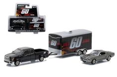 Greenlight Hitch & Tow Gone In 60 Seconds Ford Mustang Trailer Set 1:64 Scale