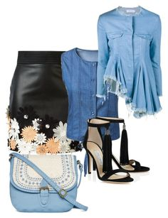 """""""Untitled #175"""" by ermina000 ❤ liked on Polyvore featuring Emanuel Ungaro, T-shirt & Jeans and Marques'Almeida"""