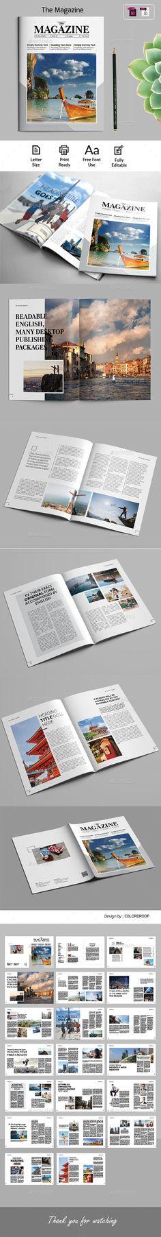 #The #Weekly #Magazine - Magazines Print Templates