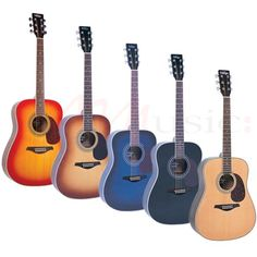 Vintage V400 Series Acoustic Guitars - Overall a fantastic choice for anyone looking for a versatile acoustic guitar, with a great, full sound.