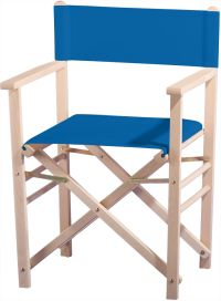 Billy Natur unbehandelt Blau Outdoor Chairs, Outdoor Furniture, Outdoor Decor, Home Decor, Director's Chair, Nature, Blue, Garten, Homemade Home Decor