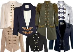 iRock Fall Trends: Military Pants and Jeweled Collar Military Pants, Military Style Jackets, Military Inspired Fashion, Military Fashion, Cool Outfits, Fashion Outfits, Winter Wear, Costume, Fall Trends