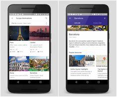 Google lança serviço de planejamento de viagens
