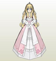 Latifa Fleuranza is the Princess from Amagi Brilliant Park anime.