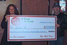 Diane won $112,500 playing Big Red Keno in OMAHA!