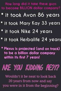 Why not join my team and be part of the success!