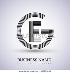 Letter GI or IG linked logo design circle G shape. Vector logo design template elements for company identity. Kreis Logo Design, Circle Logo Design, Vector Logo Design, Monogram Design, Logo Design Template, Initial Logo, Letter Logo, Monogram Letters, Letter Vector