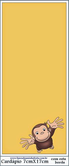Jorge el Curioso: Imprimibles de Fiesta Gratis. Curious George Party, Curious George Birthday, Party Printables, Free Printables, Curious George Coloring Pages, Simpsons Party, Oh My Fiesta, Pink Wallpaper Iphone, Writing Paper