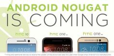 HTC , Android Nougat güncellemesini alacak modellerini açıkladı