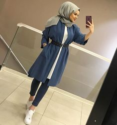 For Sports Lovers Underwear 40 Shirt 100 Shirt Underwear For Lovers Sport Modern Hijab Fashion, Muslim Women Fashion, Modest Fashion, Latest Fashion For Women, Fashion Outfits, Casual Hijab Outfit, Hijab Chic, Hijab Dress, Modest Dresses