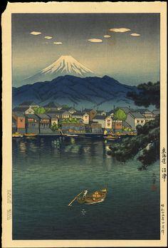 """"""" Tokaido Numazu"""" by Koitsu, Tsuchiya (1870-1949)"""