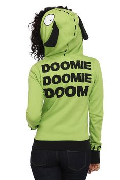 NEEEED it Invader Zim GIR hoodie -- I would wear this. In a heartbeat. All the time.