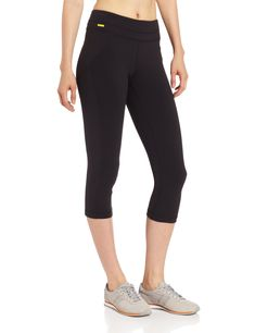 LOLE Women's Lively Capri, Black, X-Small. Capri inseam length is High rise regular fit. Mesh lined for greater support. Hidden pocket at waistband. Lace Sweatshirt, Hoodie Dress, Sweater Outfits, Sweater Hoodie, Girls Tees, Shirts For Girls, Fit Board Workouts, Just Run, Active Wear For Women