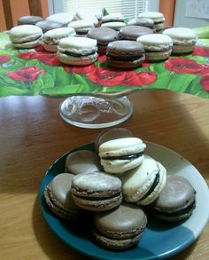 happy easter with homemade macarons <3