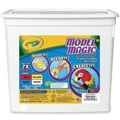 Wholesale CASE of 10  Crayola Model Magic ClayModel Magic Clay Four 8 oz Pouches 2 lb Assorted >>> For more information, visit image link.