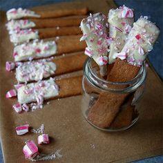 Pepparkakssticks med polkakross