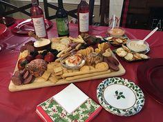 Christmas Eve Cheese Board