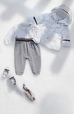Gucci - baby girl (0-36 months) Toddler Outfits, Baby Boy Outfits, Kids Outfits, Baby Kids Clothes, Kids Clothing, Baby Girl Fashion, Kids Fashion, Baby Royal, Baby Girl Closet