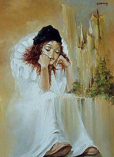 ''Pensee de crepuscule'' Georges Corominas